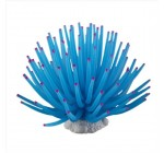 Corail Artificiel Bleu 9cm En Plastique Décoration Aquarium