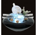 Fontaine d'intérieur led en verre Tea Time Reviews