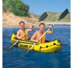 Intex Explorer K2 – 68307 Canoë kayak gonflable 2 places + rames + pompe