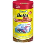 Tetra Poissons Eau Douce Tropicale Betta Menu 100 ml