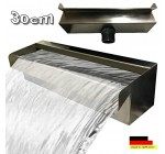 Chute d eau de 30 cm en acier inoxydable Cascade fontaine cascade V2A « Made in Germany » Reviews