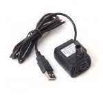 DC 3,5 V-9V 3W USB Pompe à Eau Submersible pour Aquarium Fontaine Etang