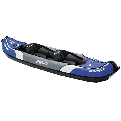 Sevylor Colorado Premium Kayak 2 places Bleu/Blanc Reviews