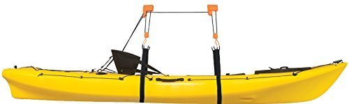 Heavy Duty Garage Utility Canoe and Kayak Lift Hoist Pulley Storage by Conquer Reviews