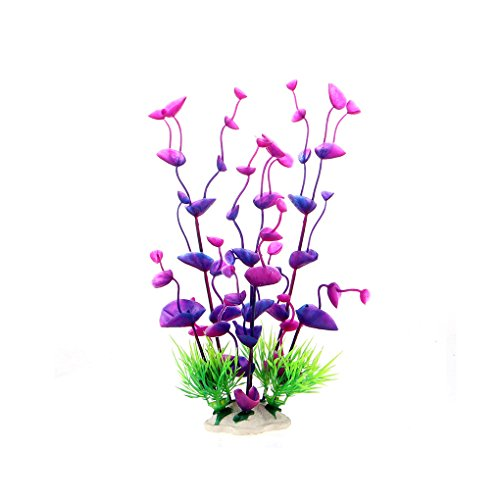 Fragrant bocal poissons artificiel vert plantes for Bocal poisson plastique