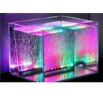 Xcellent Global Submersibles étanches de Aquarium Tank de poissons 18 LED étanches 31CM à distance 16 Couleurs 5050 LED Changement M-LD074E Reviews